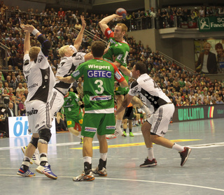 DKB Handball-Bundesliga 2013-2014, 9. Spieltag, SC Magdeburg-THW Kiel