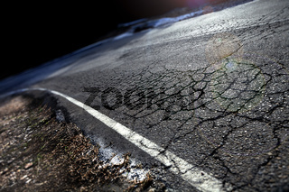 Abstract road background