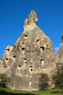 Tuffsteinfelsen im UNESCO Weltkulturerbe Göreme Nationalpark und  die Felsendenkmäler von Kappadokien