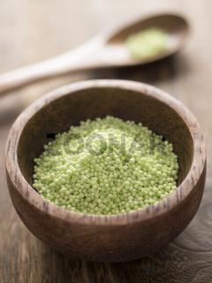green sago pearls