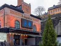 Fotografiska Museum für Fotografie mit Christbaum - Stockholm