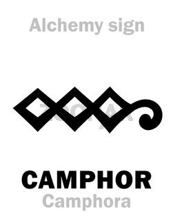 Alchemy: CAMPHOR (Camphora)