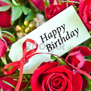 Rosen zum Geburtstag