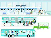 Haltestelle- mit Bus-.eps