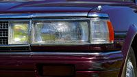 Car front light.