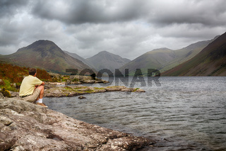 Wast water in english lake district