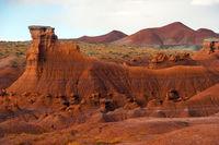 Scenic Utah state park Goblin Valley