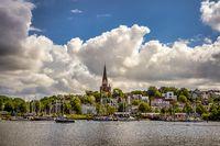Stadtansicht Flensburg