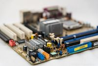 PC-Hardwareteil Motherboard - Computertechnologie