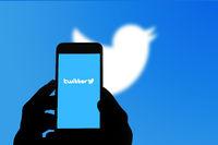 San Francisco, USA - July 2021: Twitter logo on mobile phone screen