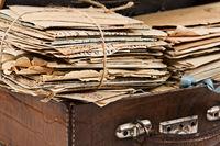 Old postal letters