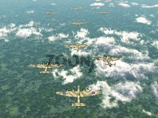 Schwerer Bomber Halifax