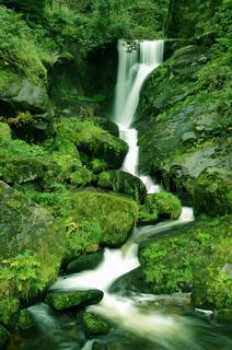 Triberger Wasserfall, Schwarzwald, Deutschland