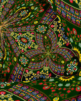 Hungarian embroidery background 2