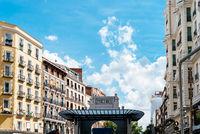 The new Metro station of Gran Via in Madrid