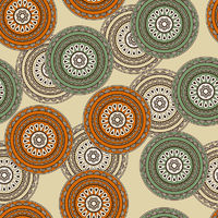 vector  seamless background in oriental style