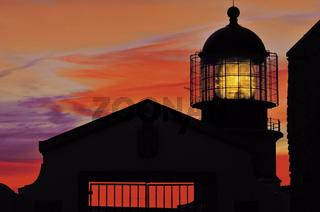 Algarve: Abendrot am Kap Sao Vicente