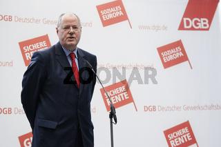 Peer Steinbrück meets Michael Sommer