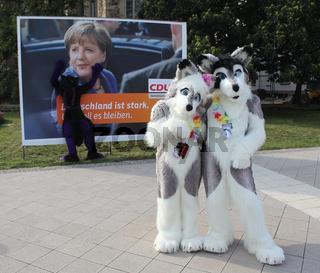 tierische Anblicke am Rande der Eurofurencce Convention in Magdeburg