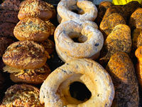 Different kinds of bakery product on the market
