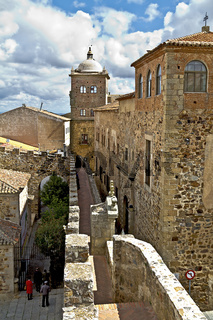 Wehrgang in Caceres