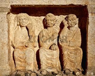 Museum at Baalbek temples - Baalbek, Lebanon