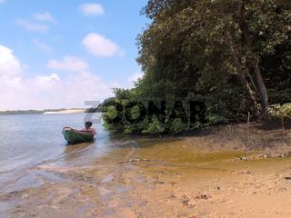 Rio Preguicas river , Maranhao state, Brazil