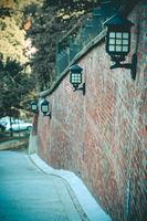 Old steel lantern