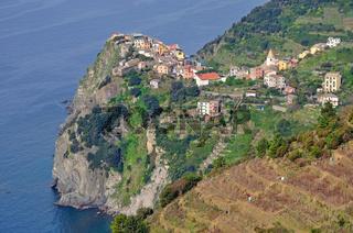 Corniglia in den Cinque Terre