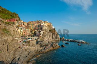 Village of Manarola, Cinque Terre, Italy