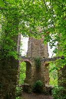 Die Burgruine Neckarburg bei Rottweil