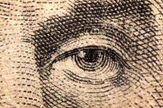 eye of the paper bill