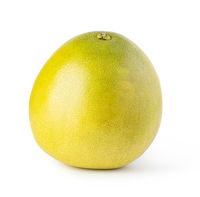 Pomelo fruit on white background