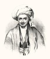 Captain Sir Alexander Burnes, 1805 – 1841, a Scottish explorer and diplomat