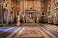 Rome, Galleria Borghese. Salon Mariano Rossi