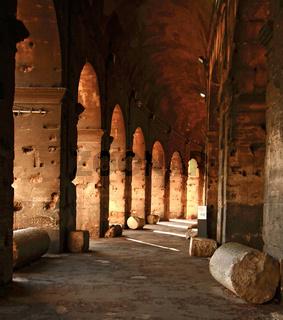 colosseum corridor Rome Thailand
