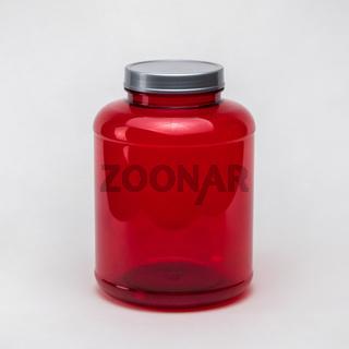 plastic pill jars