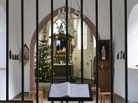 Innenansicht der Ahe Kapelle - Gemeinde Nettersheim/Eifel