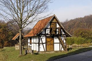 Kleines Gartenhäuschen, im Osnabrücker Land