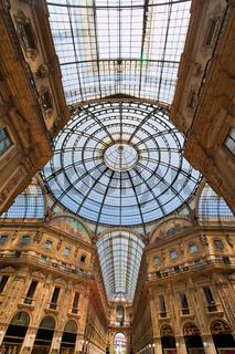 Galleria Vittorio Emanuele in Mailand, Italien