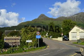 Schottland, Argyll, Glencoe Village