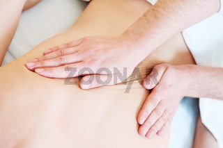 manual medical massage technique