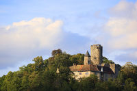 The medieval Castle Krautheim, Hohenlohe, Baden-Württemberg in Germany