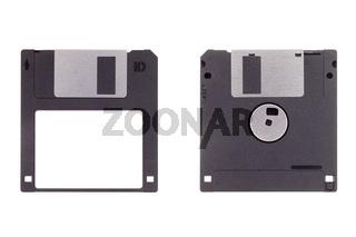 3.5' Diskette isoliert auf weißem Hintergrund