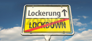 Lockerung statt Lockdown