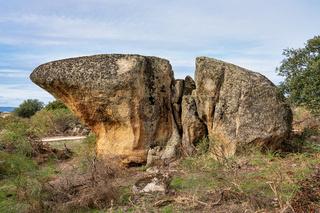 Los Barruecos Natural Monument, Malpartida de Caceres, Extremadura, Spain.
