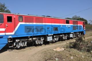 burmesische lokomotive