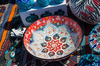 Traditional Turkish ceramic plates