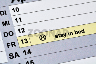 Friday the 13. / Freitag der 13.
