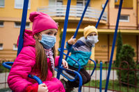 The children in the playground miss life without limits